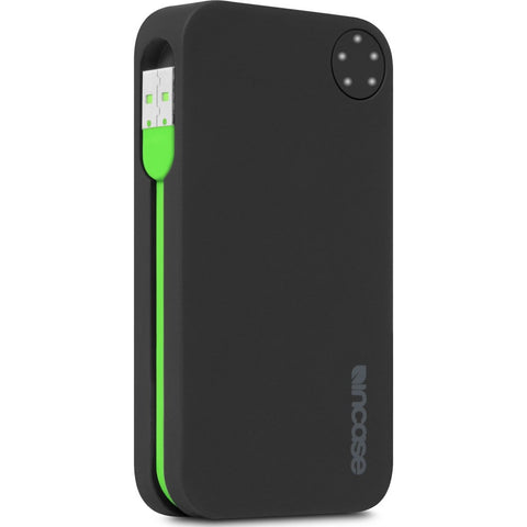 Incase Portable Power Phone Charger 5400 | Black/Green EC20064
