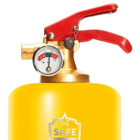 Safe-T Designer Fire Extinguisher | On the Move - V Yellow