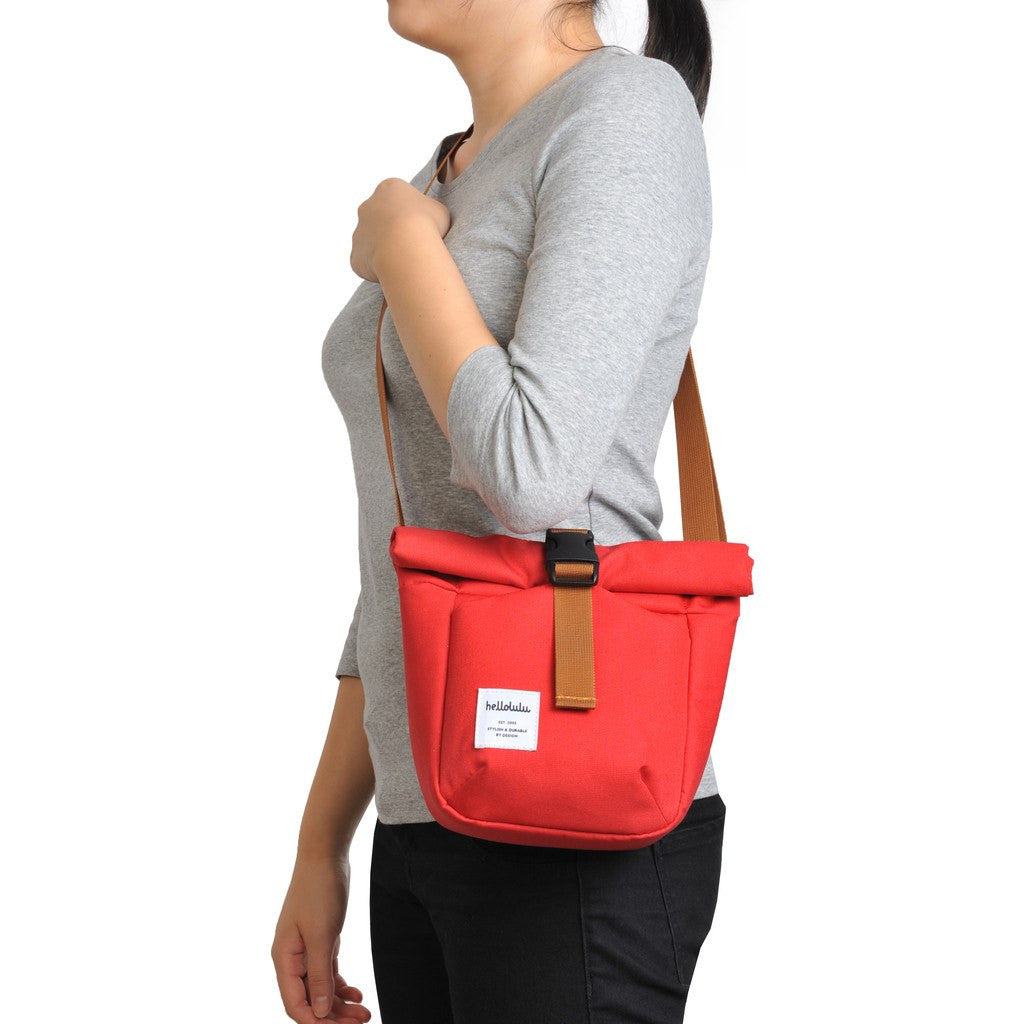 Hellolulu Matt Mini Camera Bag | Red HLL-30020-RD