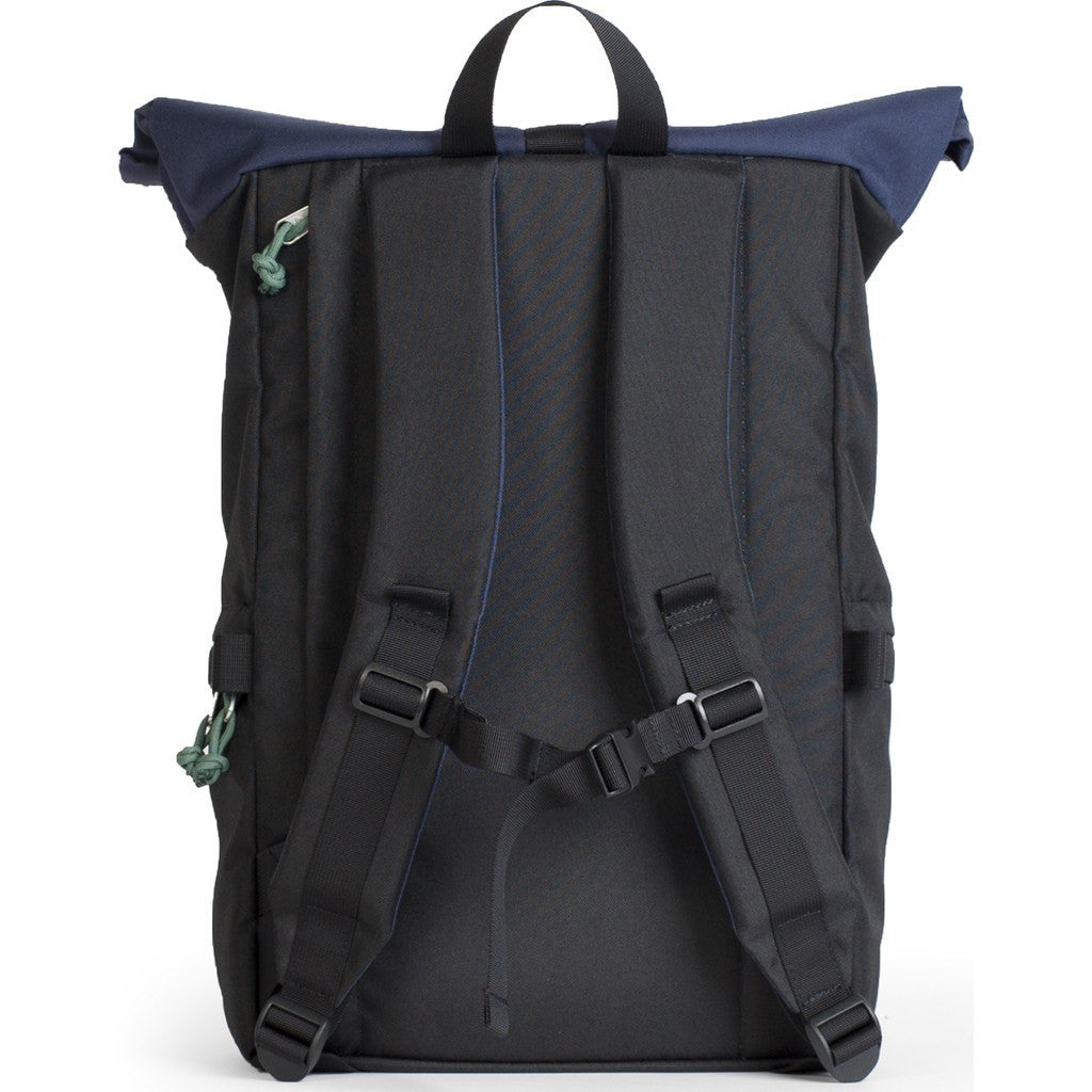 Hellolulu Polar Camera Rolltop Backpack | Black/Navy HLL-30022-BNV