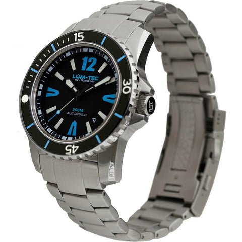 Lum-Tec 300M-4 XL Watch | Steel Strap