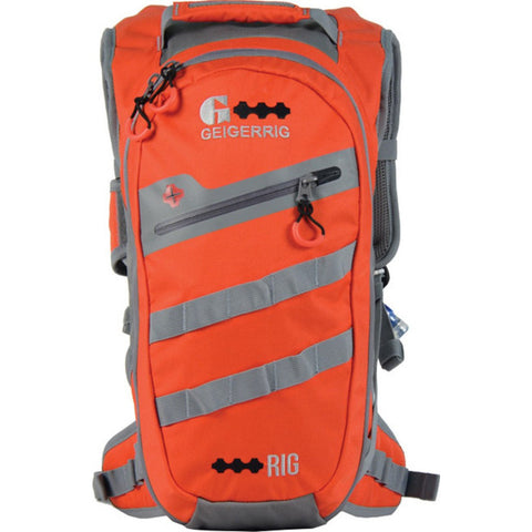 Geigerrig Rig 300M Hydration Backpack | Orange/Gun Metal