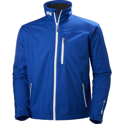 Helly Hansen Men's Crew Midlayer Jacket | Olympian Blue Size S 30253_563-S