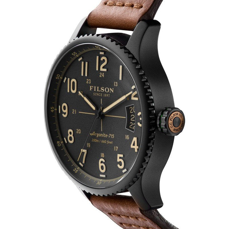 Filson Mackinaw Field 43mm Watch | Cool Gray 10000303