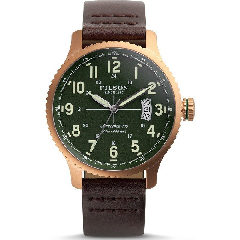 Filson Mackinaw Field 43mm Watch | Green 10000308
