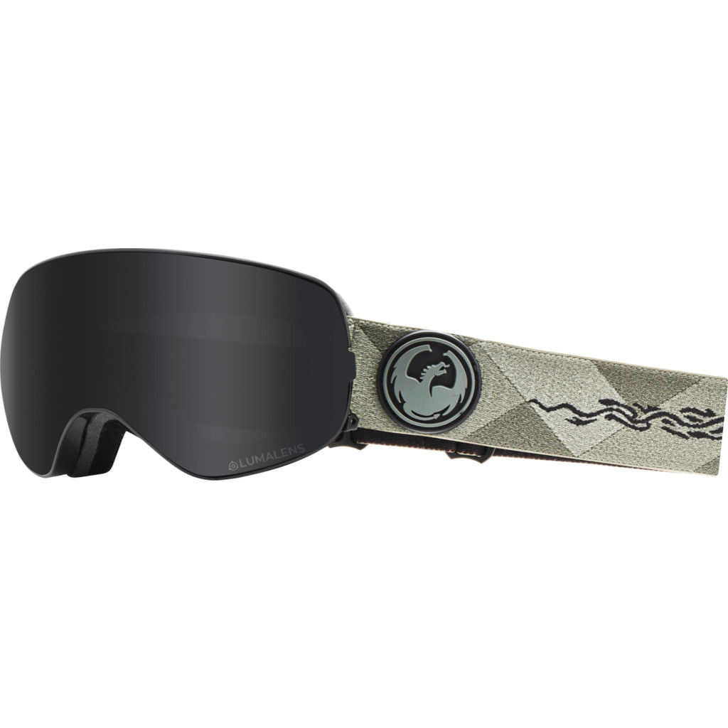 Dragon Alliance X2S Snow Goggles | with LumaLens