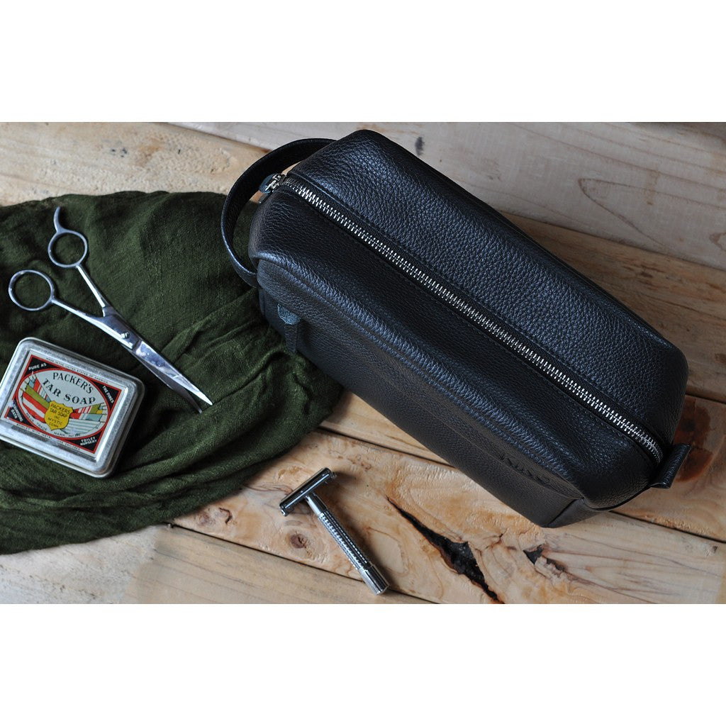 Kiko Leather Travel Kit | Black 308