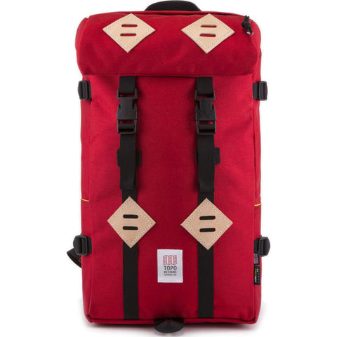 Topo Designs Klettersack 22L Backpack | Red TDKSF17RD