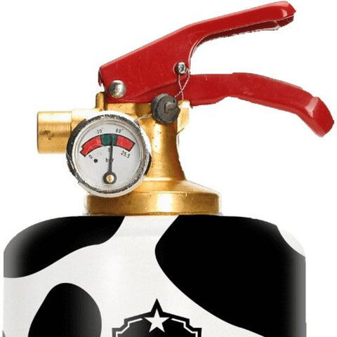 Safe-T Designer Fire Extinguisher | Animals - Cow