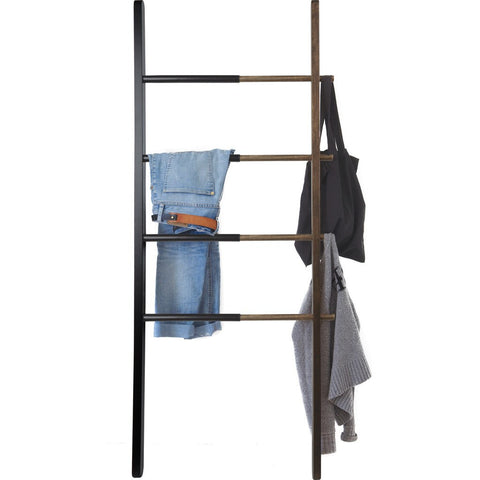 Umbra Hub Ladder | Black/Walnut 320260-048