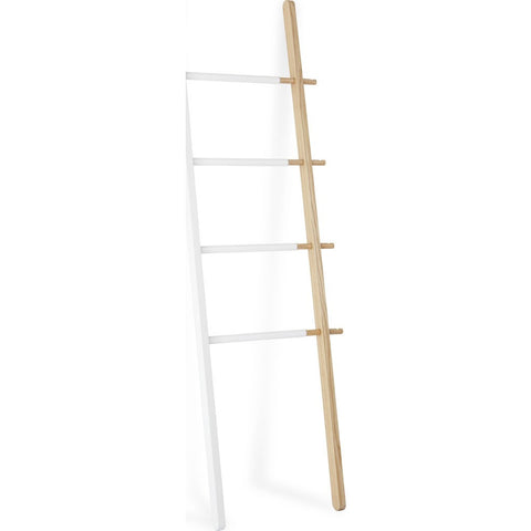 Umbra Hub Ladder | White/Natural 320260-668