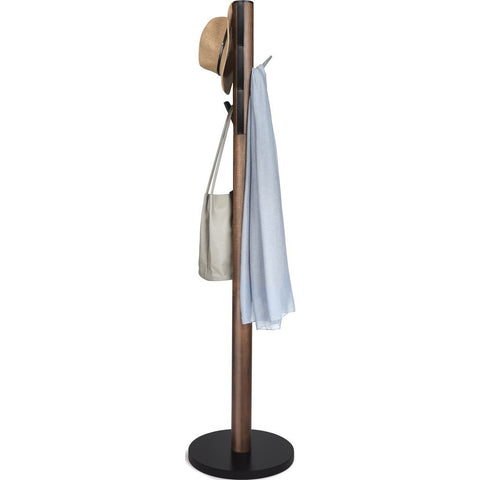 Umbra Flapper Coat Rack | Walnut 320361-048