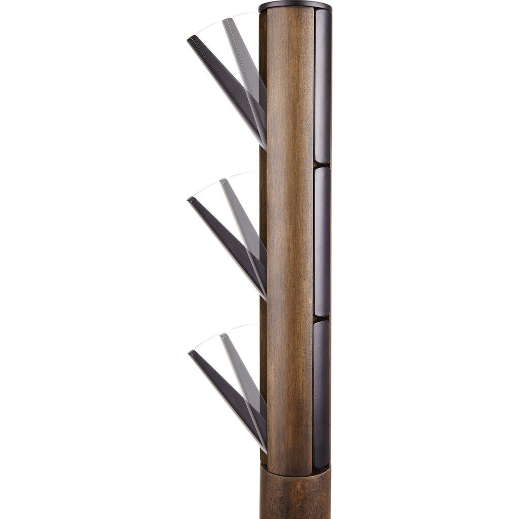 Umbra Flapper Coat Rack Walnut 320361 048 Sportique