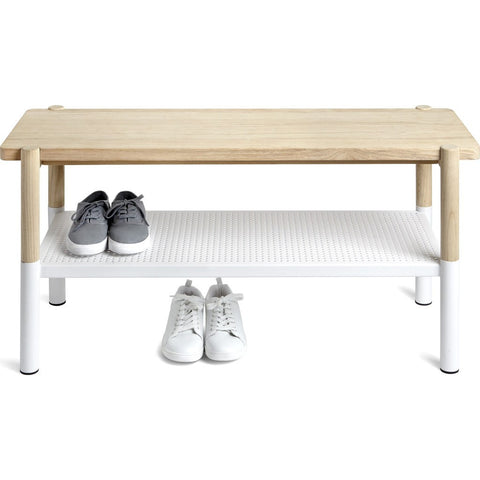 Umbra Promenade Bench | White 320800-668
