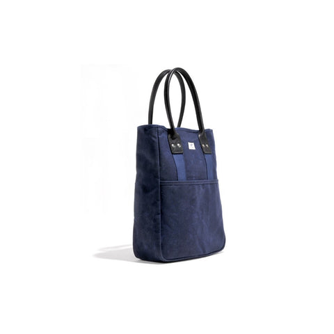 Billykirk No. 326 Commuter Tote Bag | Navy Wax