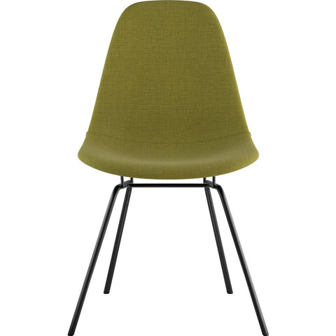 NyeKoncept Mid Century Classroom Side Chair | Avocado Green/Gunmetal 331002CL3