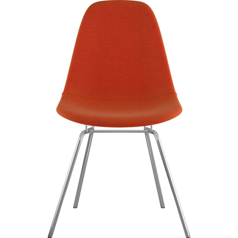 NyeKoncept Mid Century Classroom Side Chair | Lava Red/Nickel 331004CL1