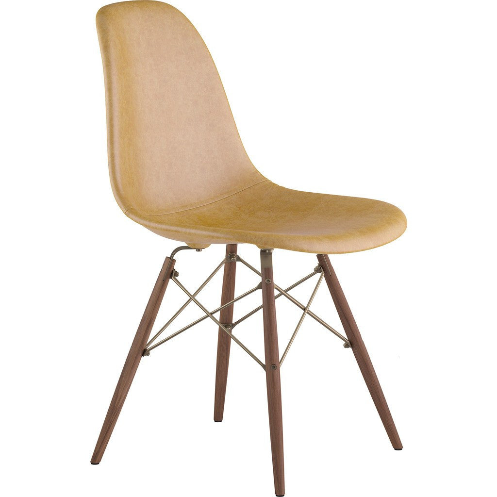 NyeKoncept Mid Century Dowell Side Chair | Aged Maple/Brass 331016EW2