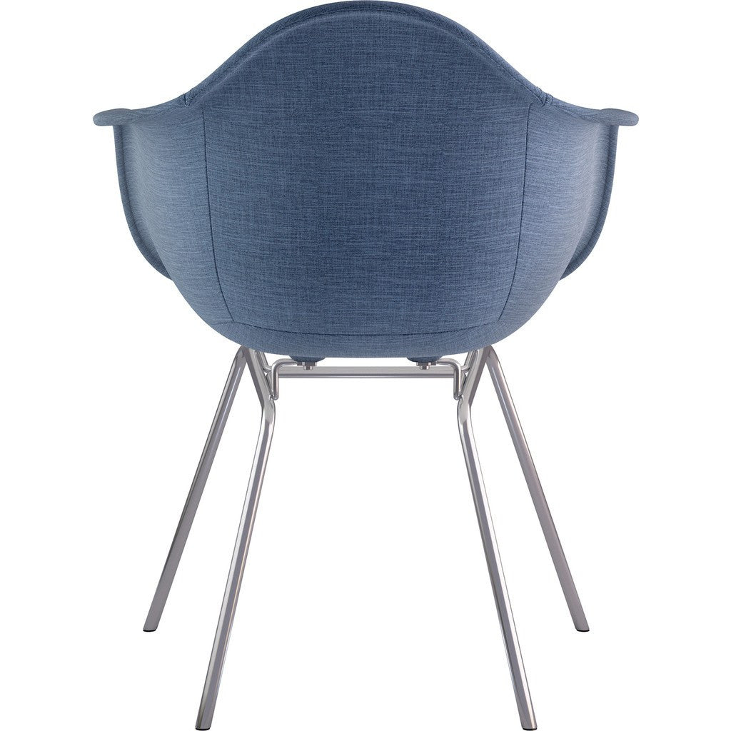 Dodger Blue NyeKoncept 332006CL1 Mid Century Classroom Arm Chair