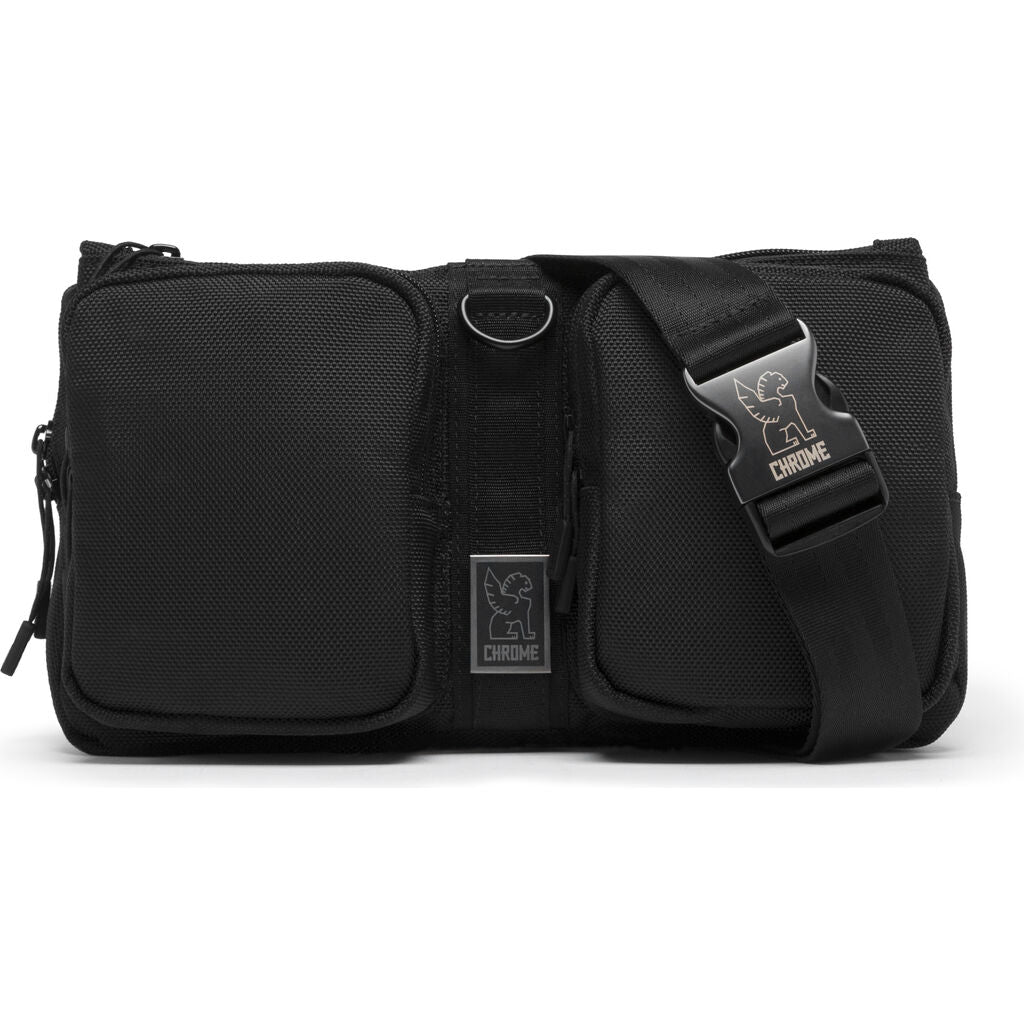 Chrome Mixed Notch Sling Bag | 5L Black BG-239-ALLB-NA