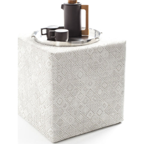 Chilewich Mosaic Cube Accent Table | Grey - 340122-002