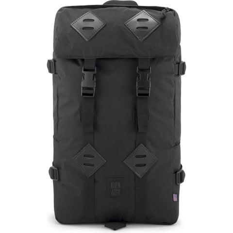 Topo Designs Klettersack 22L Backpack | X-Pac/Ballistic Black