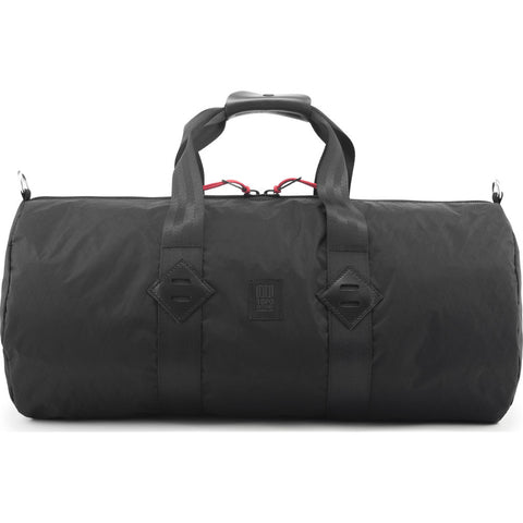 Topo Designs Classic Duffel Bag | X-Pac Black
