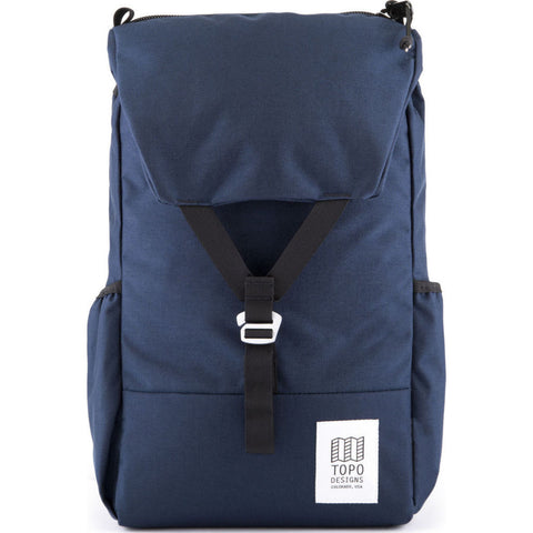 Topo Designs Y-Pack Commuter Backpack | Navy TDYPF17NV