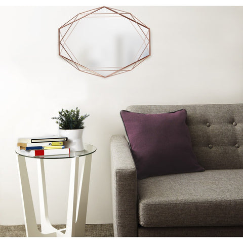 Umbra Prisma Mirror | Copper 358776-880