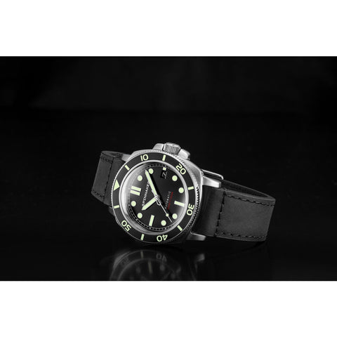 Spinnaker Hull SP-5088-01 Automatic Watch | Black/Black
