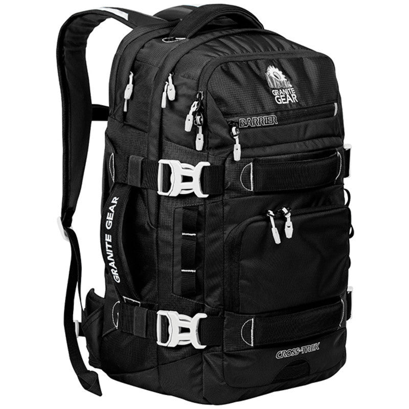 Granite Gear Cross Trek 36L Backpack | Black/Chromium