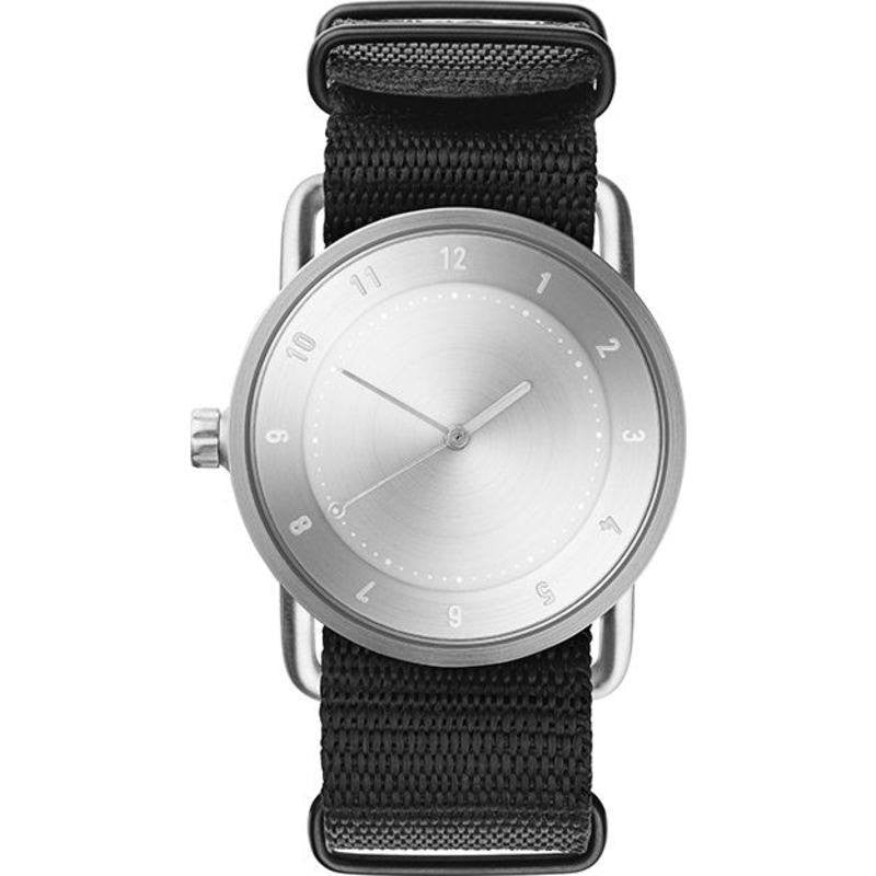 TID No. 2 36 Brushed Steel Watch | Nato Band