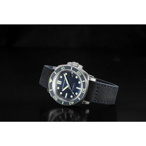 Spinnaker Hull SP-5088-02 Automatic Watch | Dark Blue/Dark Blue