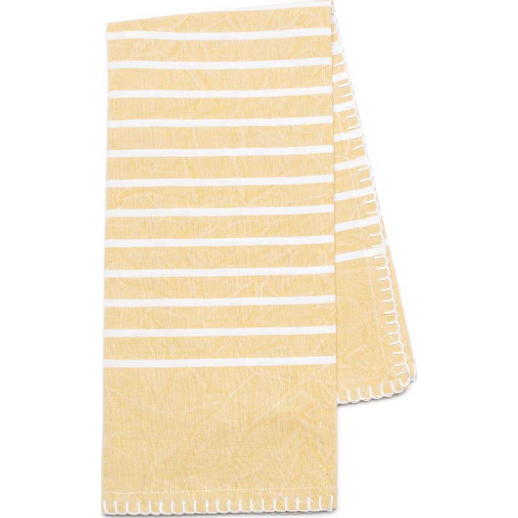 ... Zestt Eva Set Of 2 Organic Cotton Tea Towels | Citron ...
