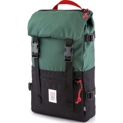Topo Designs Rover Pack Backpack | Forest/Black TDRPF17FR/BK