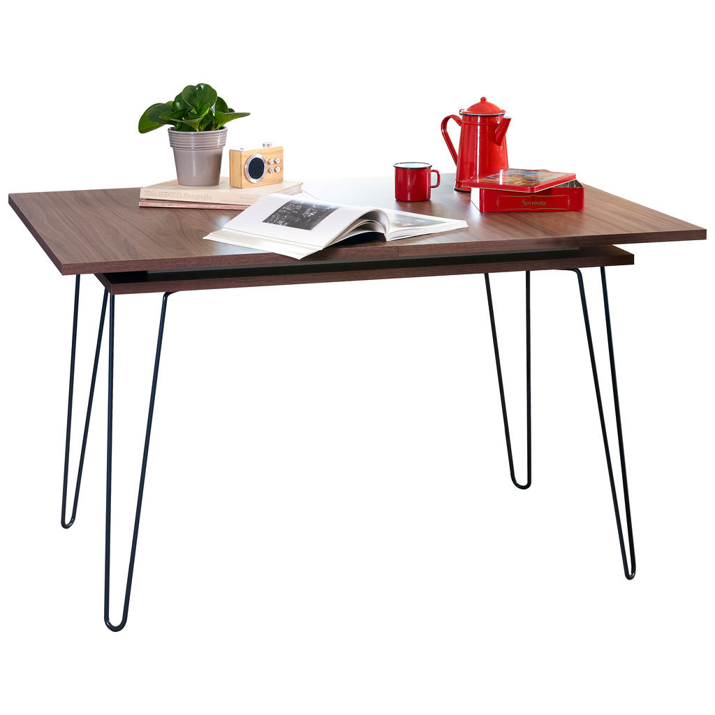 Symbiosis Aero Extendable Dining Table | Walnut