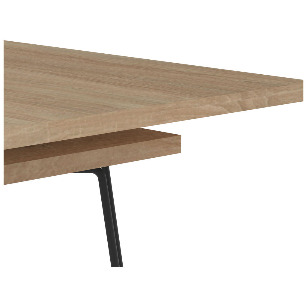 Symbiosis Aero Extendable Dining Table | Natural Oak