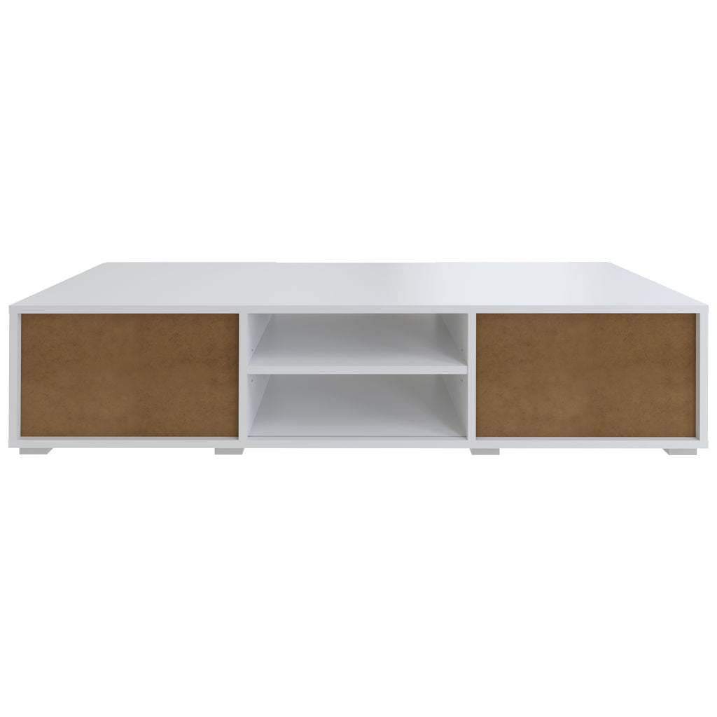 Symbiosis Podium 140 TV Stand | White