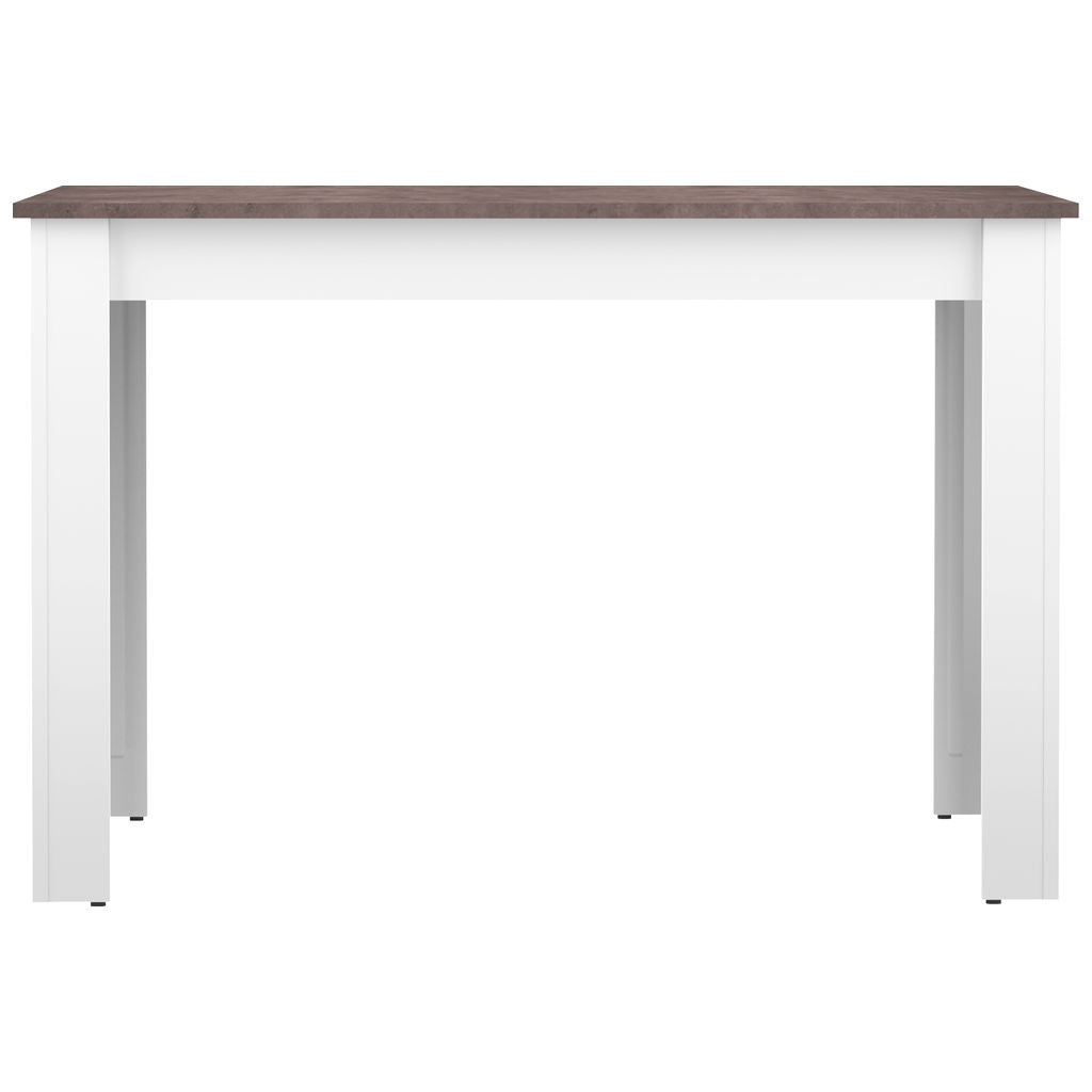 Symbiosis Nice Dining Table | White / Concrete