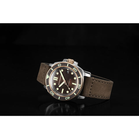 Spinnaker Hull SP-5088-04 Automatic Watch | Brown/Brown