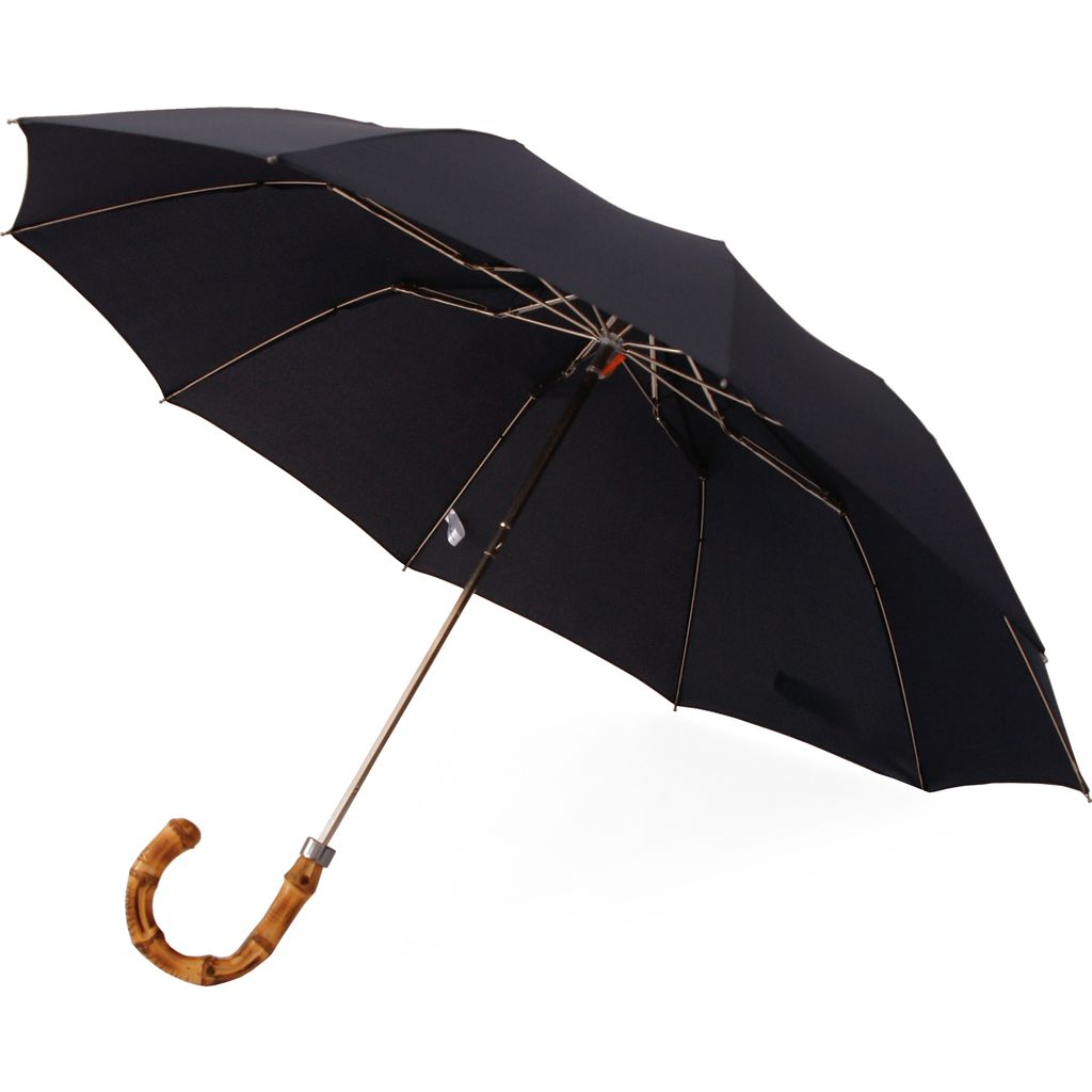 London Undercover Telescopic 10 Rib Umbrella | Whangee Handle-LU WHG-603
