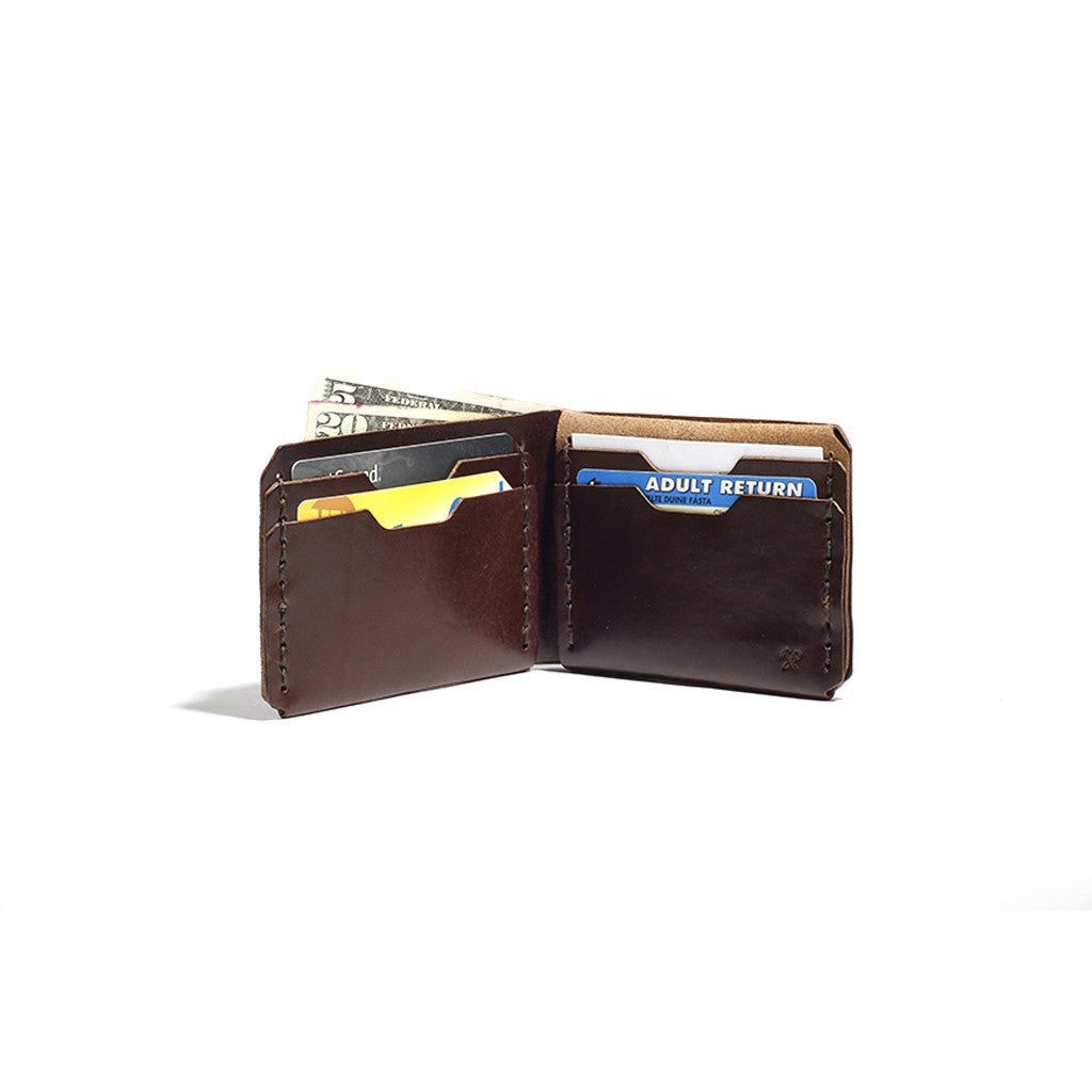 Billykirk No. 398 Bi-Fold Wallet | Brown Leather