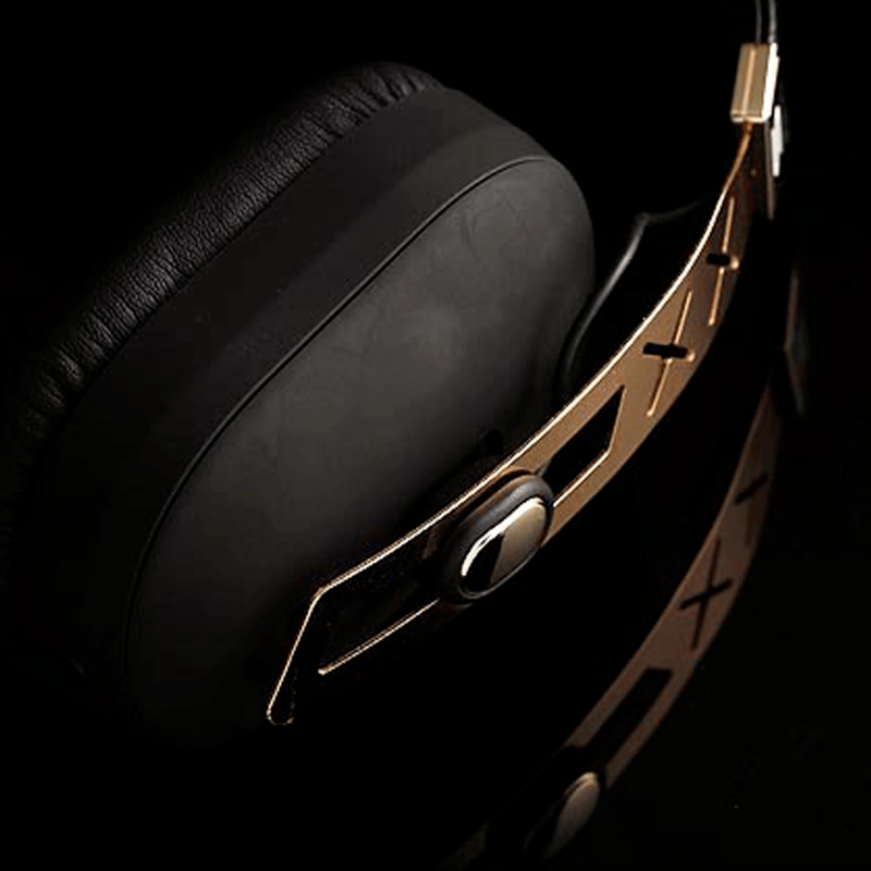 Soul Jet Pro 24K Gold Hi Definition Noise Cancelling Headphones | Limited Edition