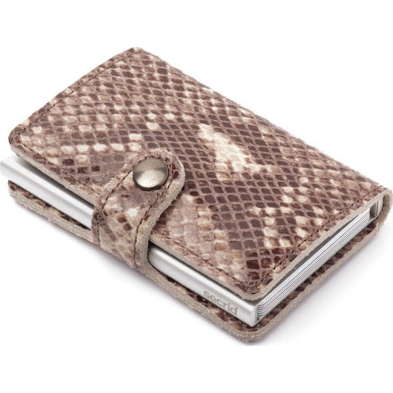 Secrid Mini Wallet Limited | Snake Taupe