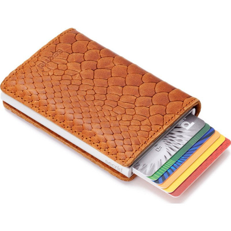 Secrid Slim Wallet Limited | Reptile Cognac