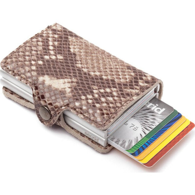 Secrid Twin Wallet Limited | Snake Taupe