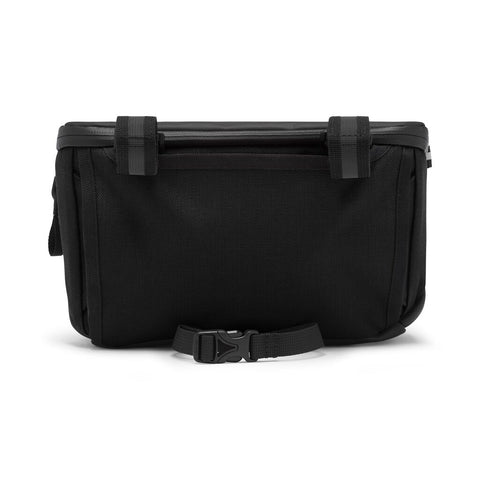 Chrome Helix Handlebar Bag | Black