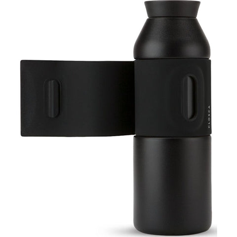 Closca Stainless Steel Wave Water Bottle | Black 450ml