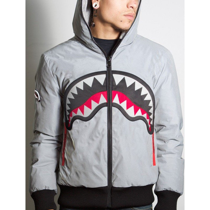 Sprayground Reversible Down Jacket | 3M Reflective