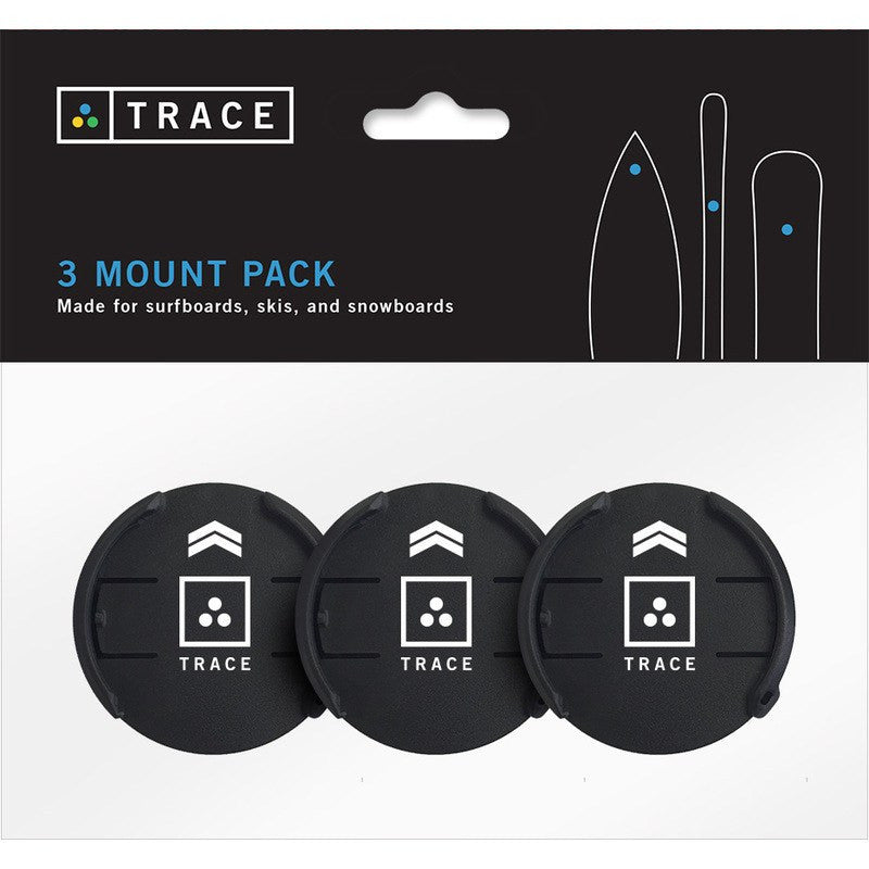 Trace GPS Action Tracker Surf & Snow Mounts (3)